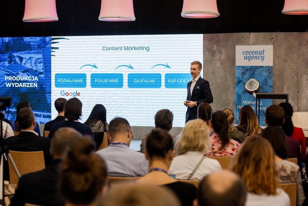 Prezentacja o social media na EKMPŚ w Katowicach
