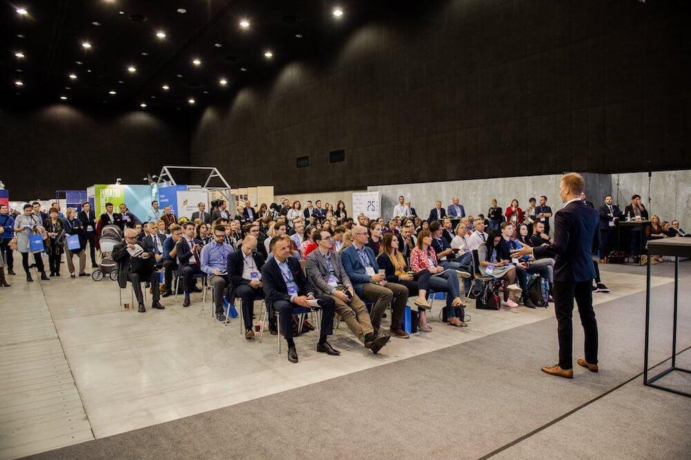 Zdjęcie z prelekcji o social media na EKMPŚ w Katowicach