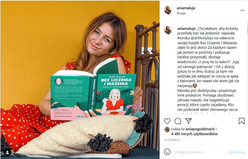 Influencer marketing na Instagramie.