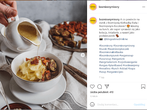 Pomysły na posty na kulinarnym Instagramie.