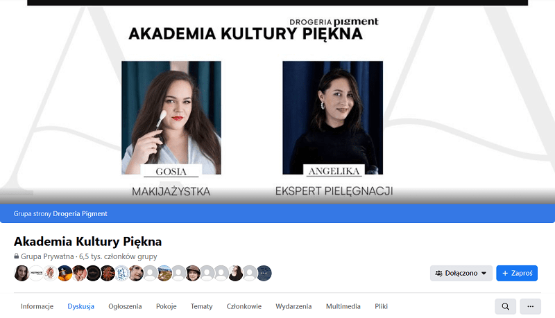 Grupy tematyczne na Facebooku - branża beauty.