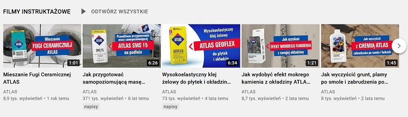 Branża budowlana na YouTube.