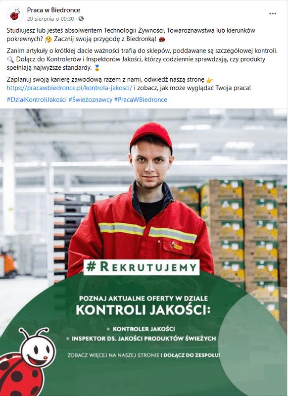 Employer Branding na Facebooku